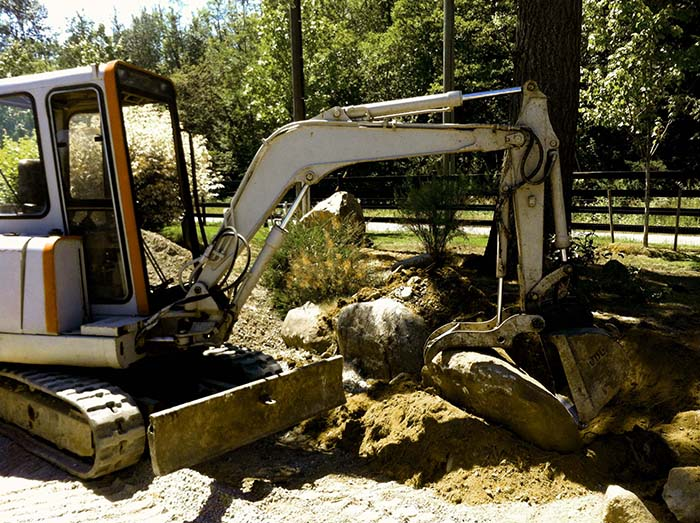excavation services Surrey and Langley - mini excavation services