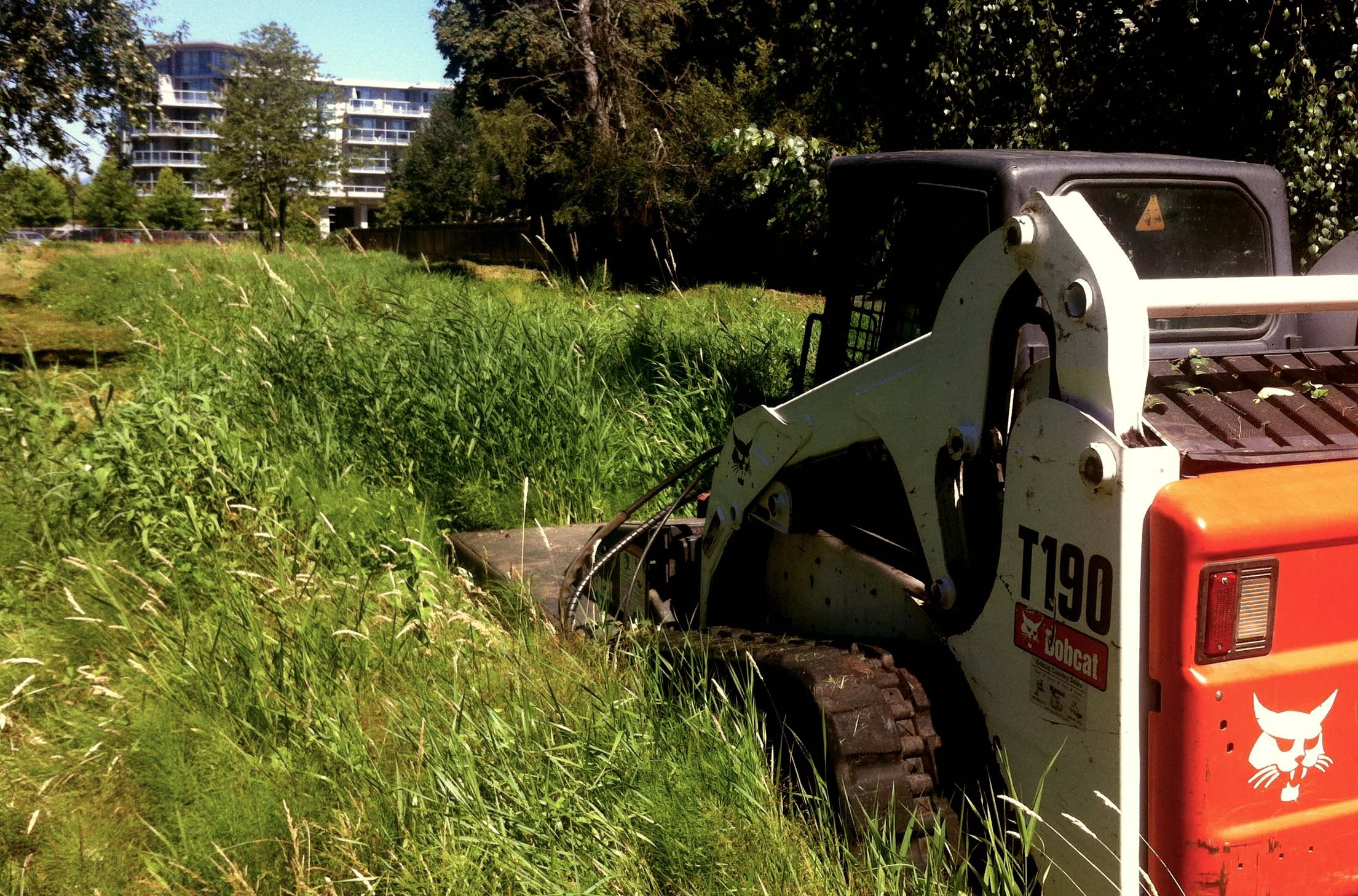 Rough mowing